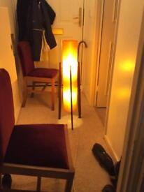 VINTAGE RETRO 1960'S/70'S SPUN FIBERGLASS ROCKET TRIPOD FLOOR LAMP