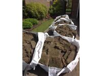 Turf and top soil