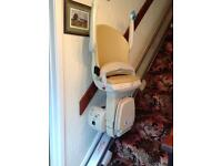 Simplicity Series Left hand side stairlift