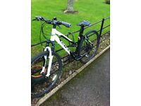 "CARRERA CROSSFIRE 1 MOUNTAIN BICYCLE 18"" FRAME"