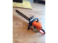 Stihl ms 390 pro logging powerfull chainsaw