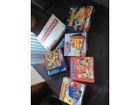 Mixture of board games