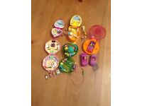 5 X POLLY POCKETS PLAYSETS
