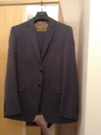 Ted Baker Suit Grey