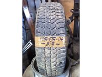 175-65-14 Goodyear Ultragrip 4 82Q 4mm Part Worn Tyre