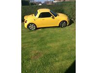 Low mileage Copen 660cc turbo price drop to sell
