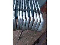 John Letter TCS set of irons - 3 to SW golf clubs