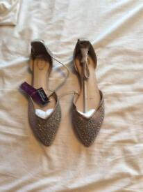 Debut Debenhams women's shoes size UK 8 brand new