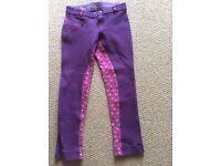 Girls Hoofit jodphurs size 26R suit 8-10yrs