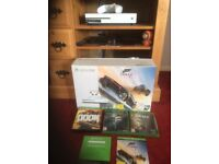 XBOX ONE S 500gb with games as new