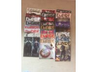 Empire Magazines Collectors covers. 25 issues from 2014 - 2016 in very good condition