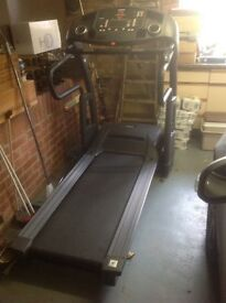 Smooth fitness high quality machine, complete many workouts etc etc, only used a few times, as new
