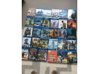 blu ray Dvd's x 30 various collection