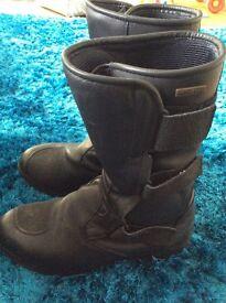 Men's size 42 Gericke motorbike boots