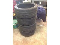 4 off Nankang Winter Tyres (255/35R19 ) for sale previously on an Audi A4