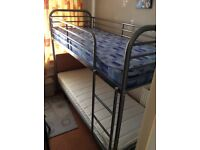 6ft by 3ft metal bunkbedh