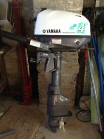 Yamaha 4hp longshaft outboard motor