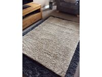 Large Natural Rug From Next 135x190cm