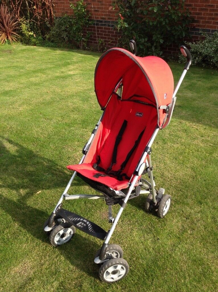 Red Chicco Stroller   in Telford, Shropshire   Gumtree
