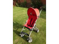 Red Chicco Stroller