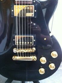 Gibson Les Paul Studio Guitar Ebony with Gold hardware