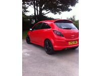 Vauxhall Corse Limited Edition 2013 reg, FULL M.O.T, Wery low milage, 1.2 petrol