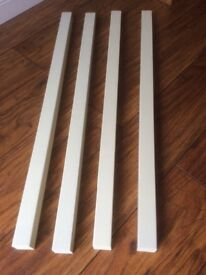 Staircase spindles brand new pre painted white x 13