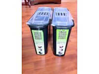 Bin x 2 - £5.00 EACH (slimline kitchen waste caddy) - will sell separately if you only want one