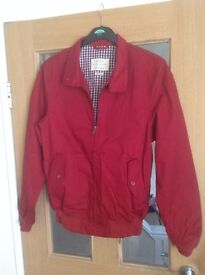 Mens NEXT Red Bomber Jacket