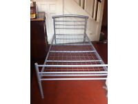 Metal Single Bed Adult Size / Can Deliver
