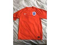 BRAND NEW Nike England FA Football Shirt (Men's Medium - World Cup Away Red) Top