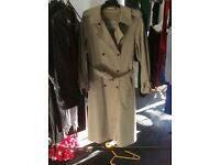 HOUSE OF FRAZER EXCLUSIVE TRENCH COAT. SIZE14