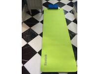 Reebok exercise mat and headrest