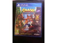 PS4 game Crash Bandicoot N Sane Trilogy