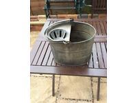 Vintage small mop bucket