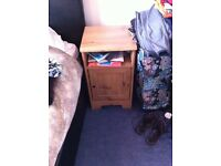 Dressing table and matching bedside unit