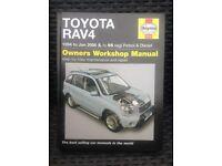 Toyota Rav4 workshop manual.