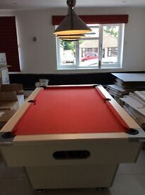 Pool table 1200mm x 2100 mm