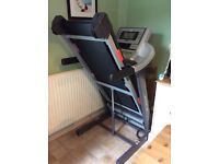 HB F1 Motorised Treadmill. 1 year old, lightly used, Excellent high quality machine.