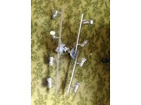 """4 Spot Light Ceiling Bar ( with LED bulbs) """"MUST GO"""" X2 Funds for Animal Rescue"""