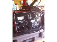 Heavy duty charger. 12 and 24 Volt with booster pack