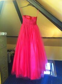 Prom dress size 8 very good condition
