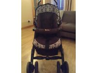 Silver Cross Pushchair/Buggy and Car/Carry Seat
