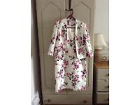 Jacques vert compleat special occasion outfit 12 jacket 14 dress