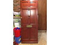 Hardwood front door very good condition