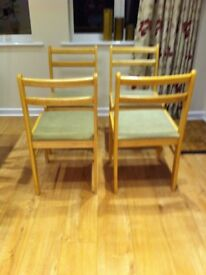 Chairs solid pine