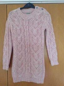 Girls next knitted jumper dress