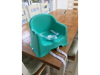 Mothercare booster seat to fit on dining room chair