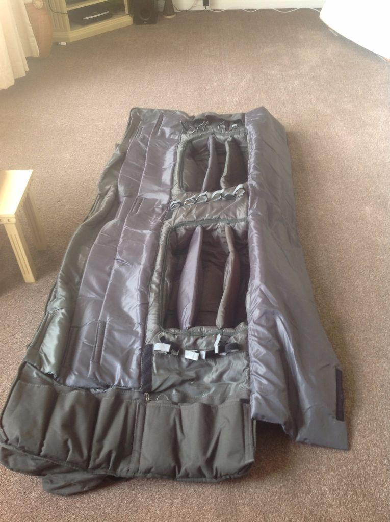 Daiwa Infinity 9 Rod Holdall 6 Up 3 Down In Great