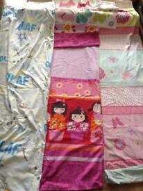 Girls bedding x3